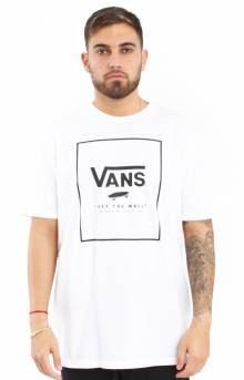 Print Box T-Shirt - White/Black