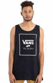 Print Box Tank Top - Black