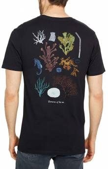 Reality Coral T-Shirt - Black
