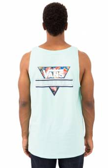 Retro Tri Pocket Tank Top - Mint