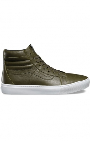 Sk8-Hi Cup Leather Shoe - Green