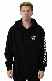 Square Root Pullover Hoodie - Black