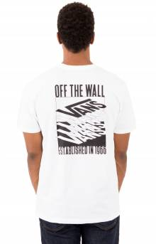 Stacked Up T-Shirt - White