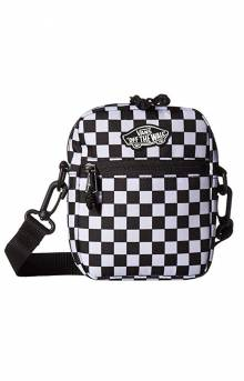 Street Ready Crossbody Bag - Black/White Checkerboard
