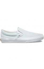 Suede Canvas Classic Slip-On Shoe - Illusion Blue/True White