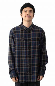 Sycamore Button-Up Shirt - Dress Blues/Canteen