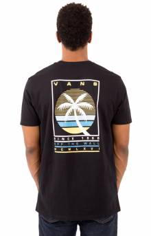 Tall Palms T-Shirt - Black