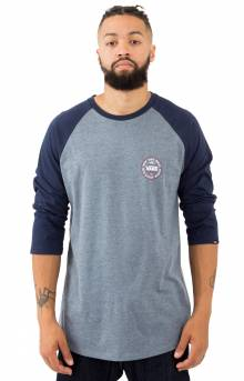 The Original 66 Raglan - Heather Grey/Dress Blue