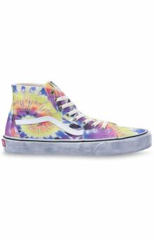 (U1619X) Washed Sk8-Hi Tapered Shoes - Tie-Dye/True White