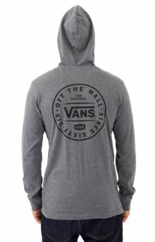 Van Doren Hooded Shirt - Asphalt Heather
