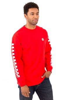 Vans Classic Circle L/S Shirt - Red