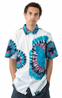 Vans Tie-Dye Button-Up Shirt - White