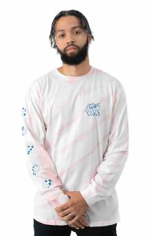 Widow Maker Tie-Dye L/S Shirt - Vans Cool Pink