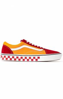 (WMAWX4) Tape Mix Old Skool ComfyCush Shoes - Red