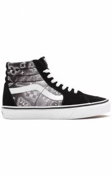 (2QG4U8) Better Together Sk8-Hi Shoes - Black/True White