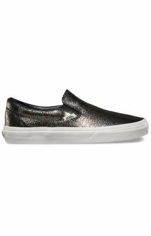 (3TBLY3) Gold Dots Classic Slip-On Shoe - Gold