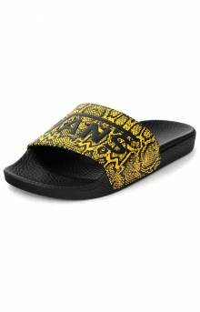 (4LGXXY) Vans, Multi Pythons Slide-On Sandals - Sulphur
