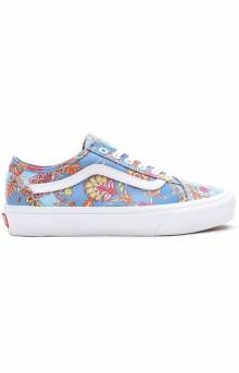 (54F44TV) Liberty Fabrics Old Skool Tapered Shoes - Multi/Patchwork Floral