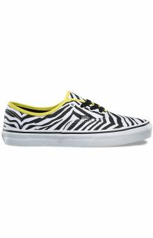 (8EMQ9R) Zebra Authentic Shoe - Green Sheen