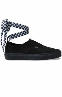(8ETVL5) Check Wrap Authentic Gore Shoe - Black