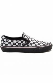 (8F7QD0) Lazy Oaf Classic Slip-On Shoe - Check