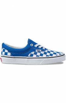 (8FRVOU) Checkerboard Era Shoe - Lapis Blue
