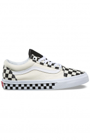 (8G1QMI) Checker Sidewall Old Skool Shoe - Black/White