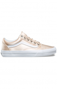 (8G1R1G) Satin Lux Old Skool Shoe - Blush