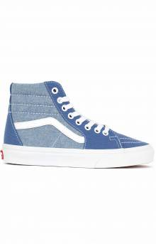 (8GEVIO) Chambray Sk8-Hi Shoe - Canvas True NA