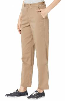 Authentic Chino Pants - Military Khaki