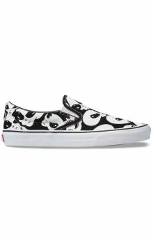 (BV3TB1) Alien Ghosts Slip-On Shoe - Black/True White