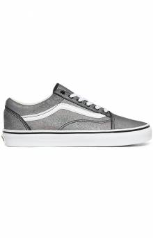 (BV51IF) Prism Suede Old Skool Shoes - Black/True White