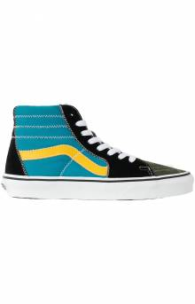 (BV619Y) Zig Zag Sk8-Hi Shoes - Multi/True White