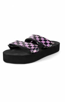 Cayucas Slide Meh - Iridescent/Checker/Black