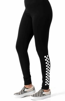 Chalkboard II Leggings - Black