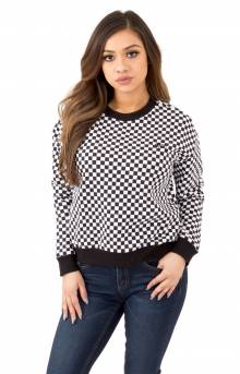 Checkers Crewneck - Black