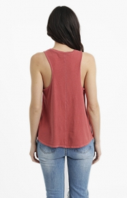 Vans Womens Clothing, Directional Muscle Tee