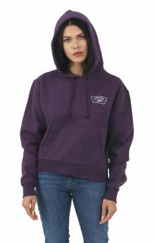 Full Patch Crop Pullover Hoodie - Mysterioso