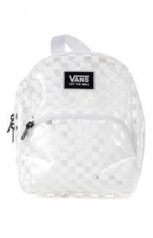 Gettin It Mini Backpack - White Checkerboard
