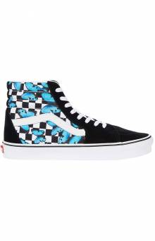 (HXV5KK) Butterfly Check Sk8-Hi Shoes - True White