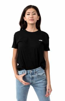Junior V Boxy T-Shirt - Black