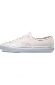 Vans Womens Clothing, Leather Authentic Weave Shoe - Delicacy