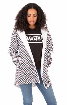 Mercy Reversible Jacket - Rose Checker