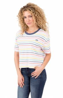 Pool Party Top - Party Stripe