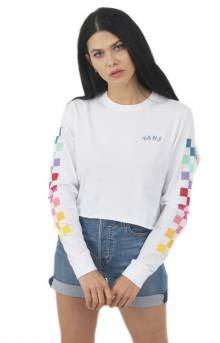 Rain Checks L/S Shirt - White