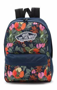 Realm Printed Backpack - Multi Tropic Dress Blues