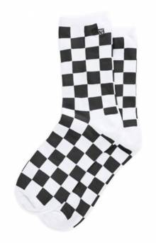Ticker Socks - Black/Checkerboard