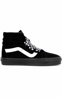 (TKLVL4) Check Wrap Sk8-Hi Alt Lace Shoe - Black