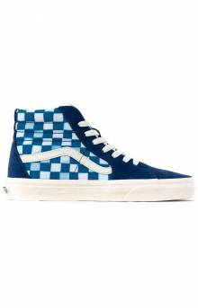 (U3CWV8) Solar Floral SK8-Hi Shoes - True Blue/Marshmallow