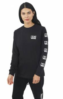 Vans Love L/S Shirt - Black